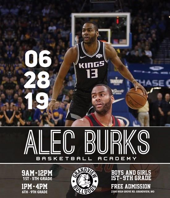 Alec Burks Basketball Academy