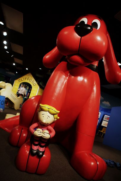 Clifford the Big Red Dog exhibit
