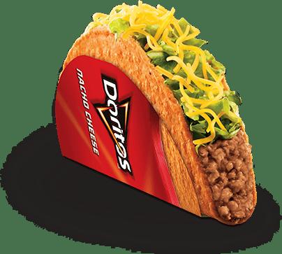 Taco Bell Doritos taco
