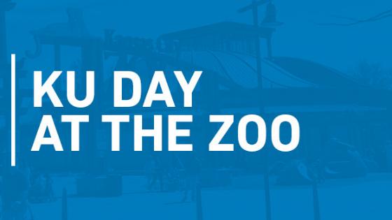Kansas University Day at the Zoo banner