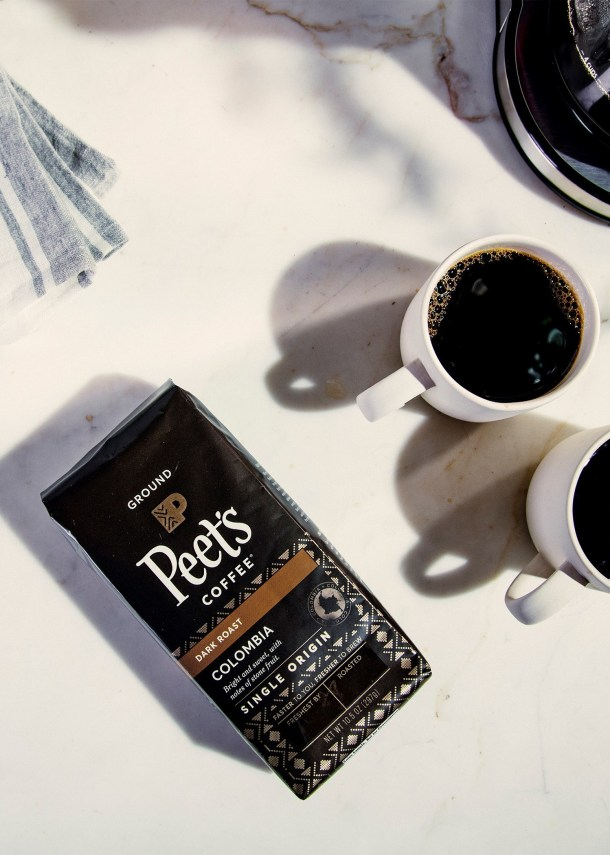 National Coffee Day - Bag of Peet's coffee