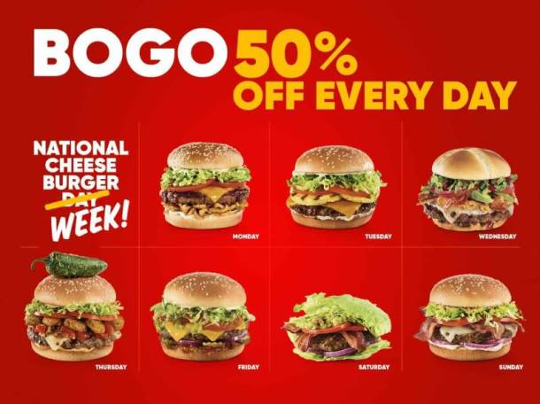 Red Robin National Cheeseburger Day