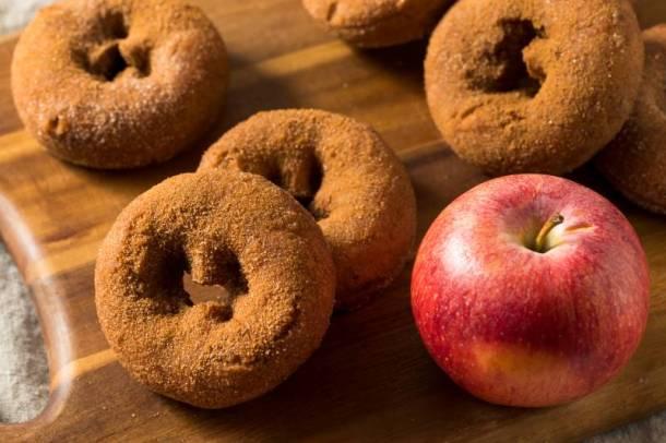 Louisburg Cider Mill - apple cinnamon donuts