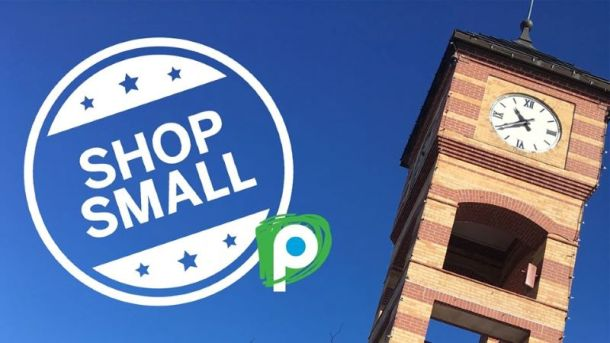Small Business Saturday deals and events in Kansas City - Downtown Overland Park clock tower