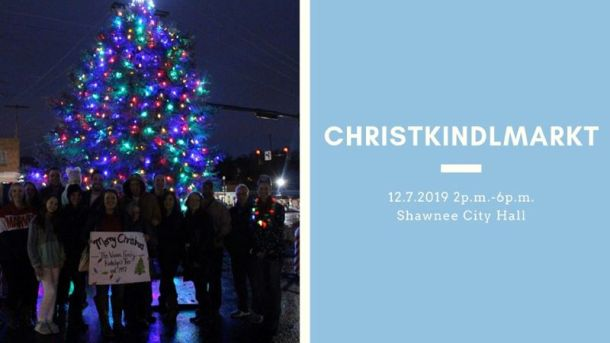 Holiday Lights in Kansas City - banner for Shawnee Christmas Market