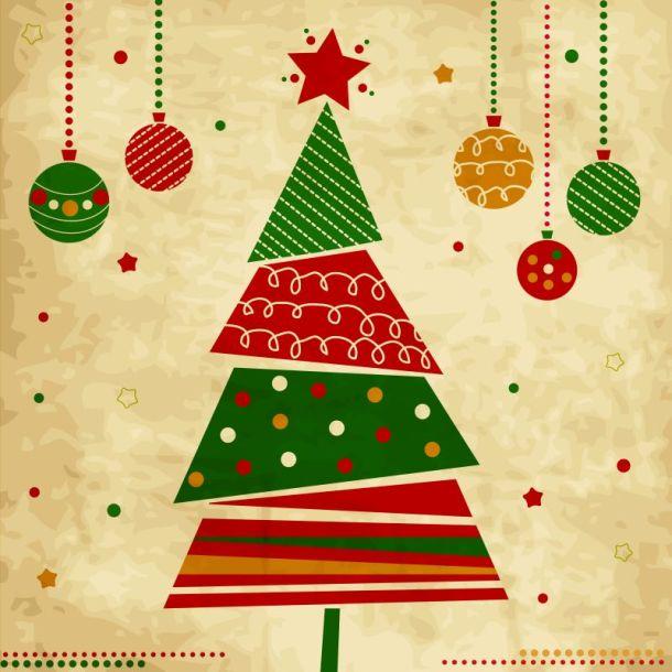 Holiday lighting ceremonies in Kansas City - vintage Christmas tree
