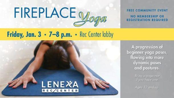 Free yoga in Kansas City - Lenexa Rec Yoga