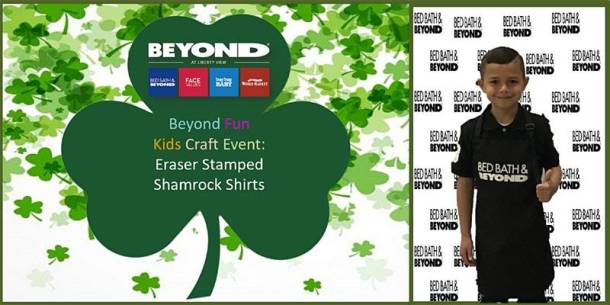 St. Patrick's Day Events in Kansas City - Bed, Bath and Beyond shamrock t-shirts