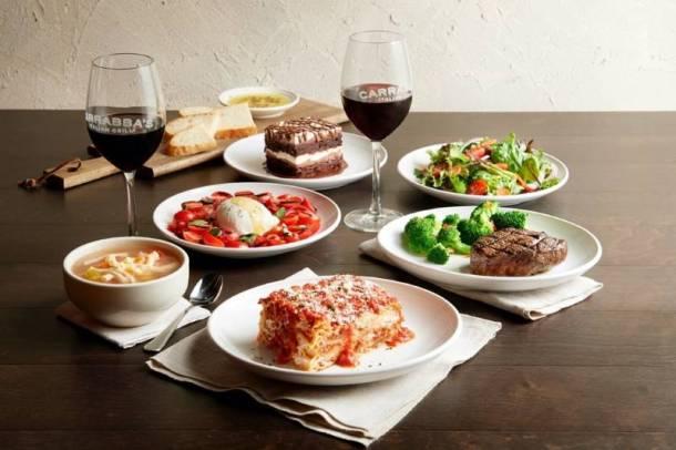 Carrabba's Valentine's Dinner