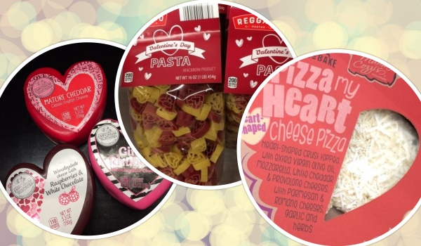 Valentine's Day food deals in Kansas City - Aldi's heart-shaped foods