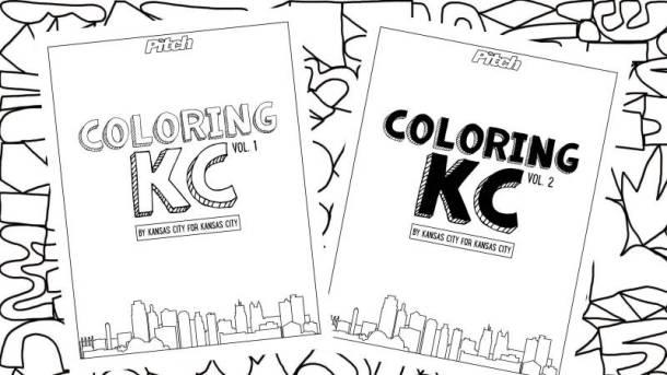 Coloring KC: digital coloring book