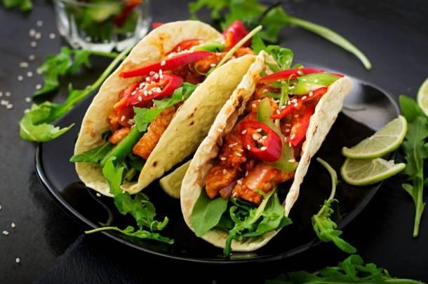 Kansas City National Taco Day deals - chicken tacos