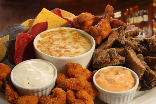 Yard House Veterans Day deal - appetizer plate
