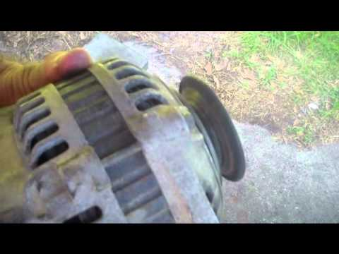 How to diagnose and repair a bad alternator in your car or truck