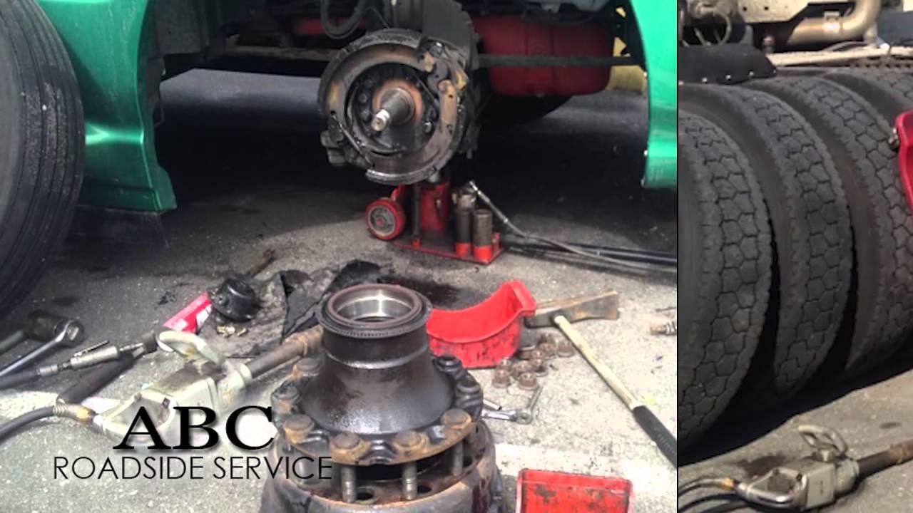 Onsite Truck Repair in Ephrata PA, ABC Roadside Service