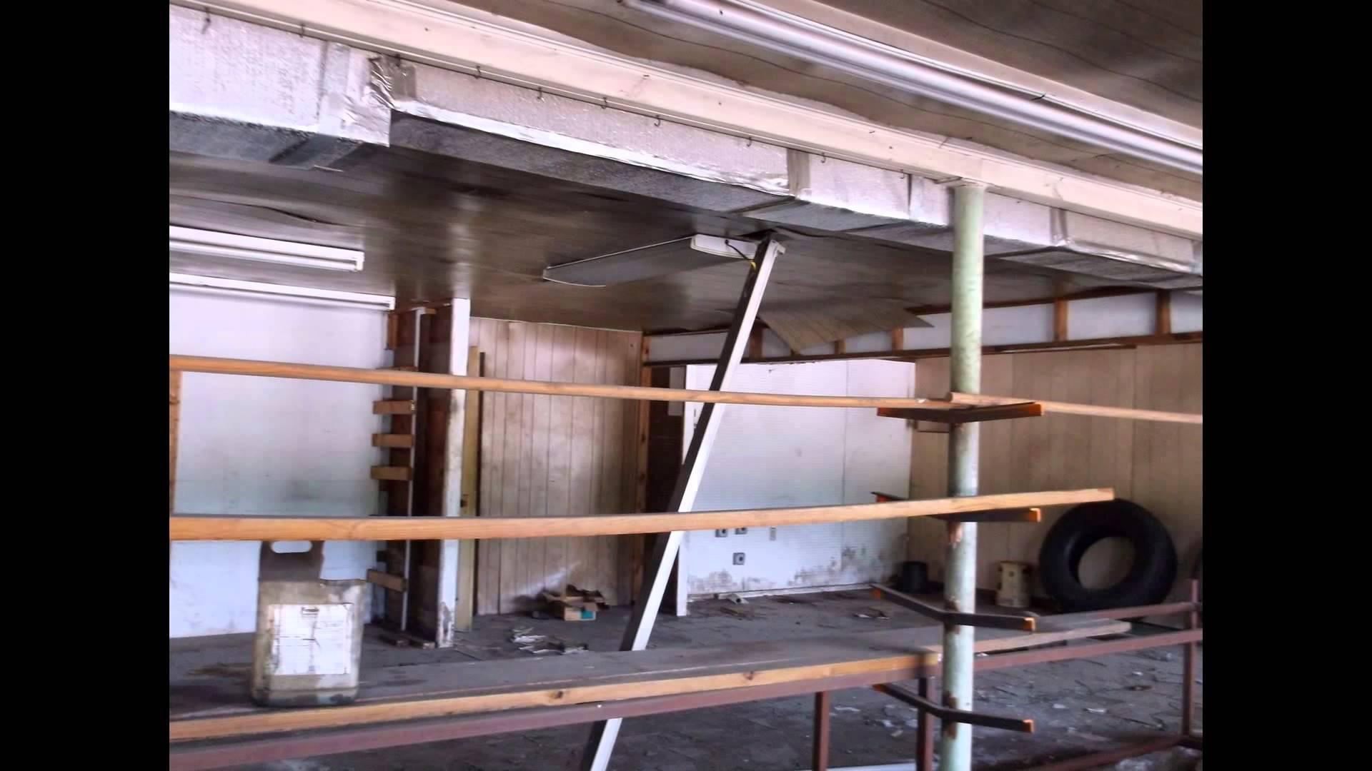 Abandoned Semi Truck Repair Shop 2015