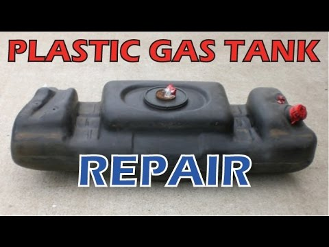 Car ATV Motorcycle Plastic Gas Tank FIX Repair Leak