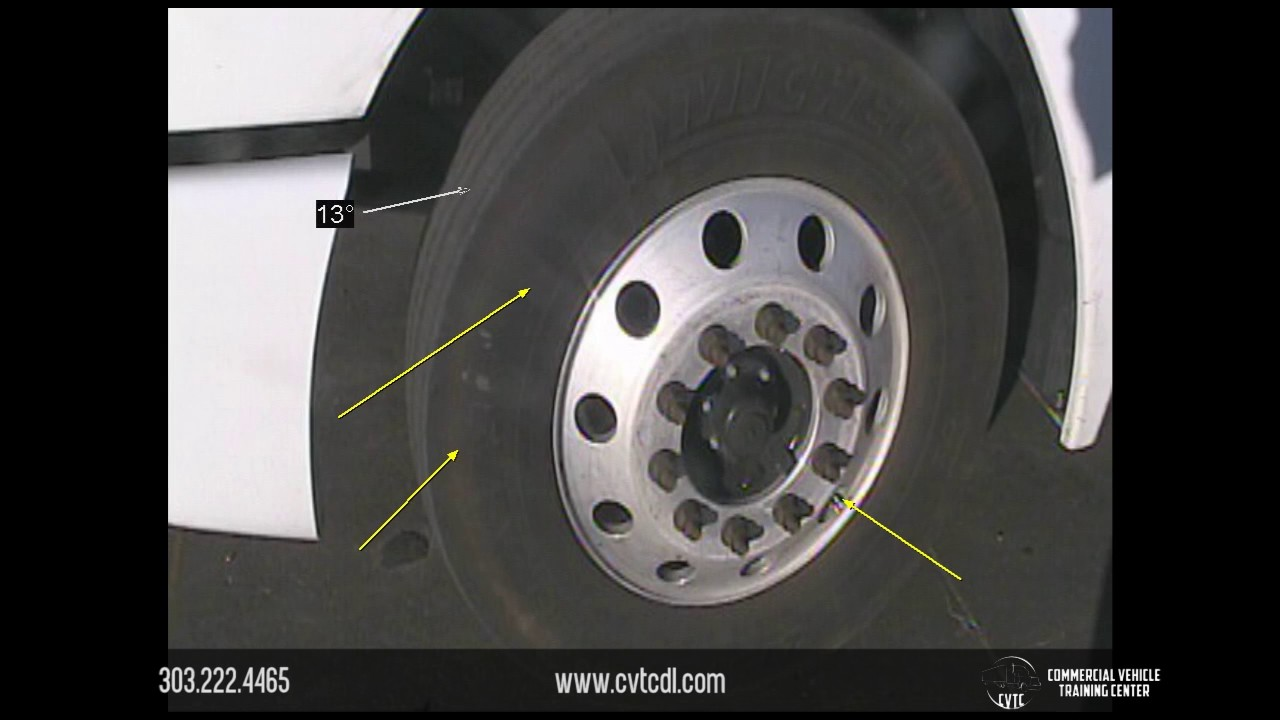Commercial Vehicle Pre-Trip: Tire & Wheel