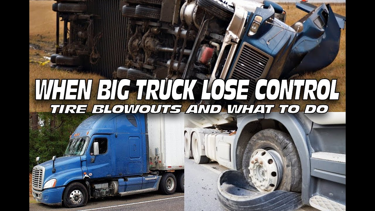 Trucking: When those steer tires blow what are you going to do?
