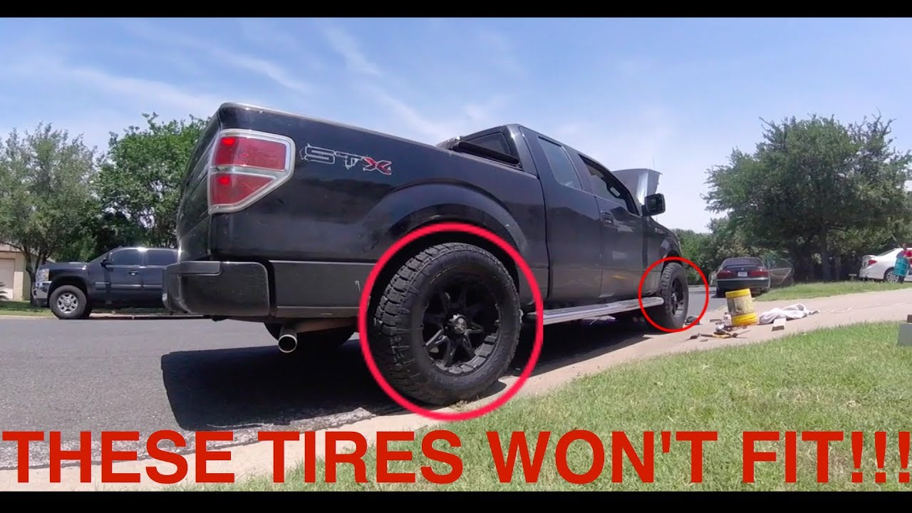 How to Fit Bigger Tires on a Truck