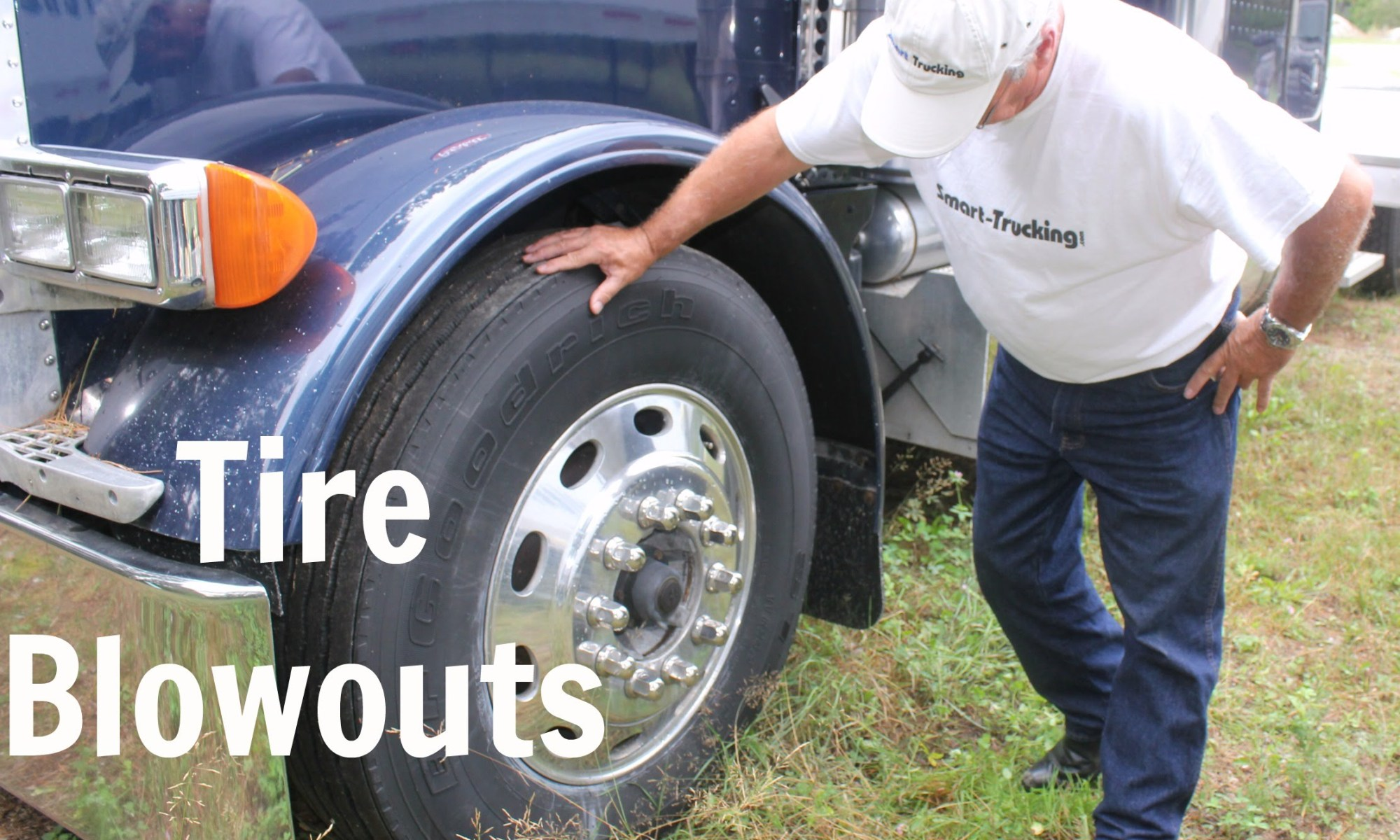 How to Handle a Tire Blowout in a Big Rig