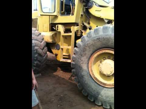 Big tire need to be repaired