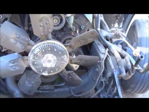 International 4700 7.3 Water Pump Replacment