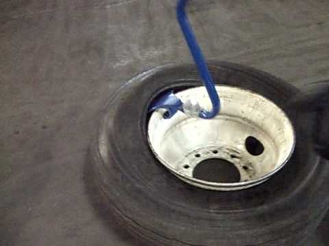 Ken-Tool's Blue Cobra™ Demounts 4 Truck Tires in About a Minute!