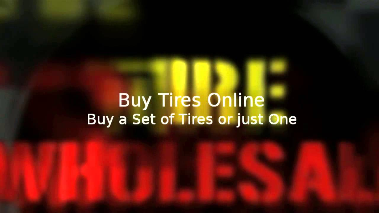 Low Priced Tires Online at Wholesale Tire Rates from Wholesale Tire Online
