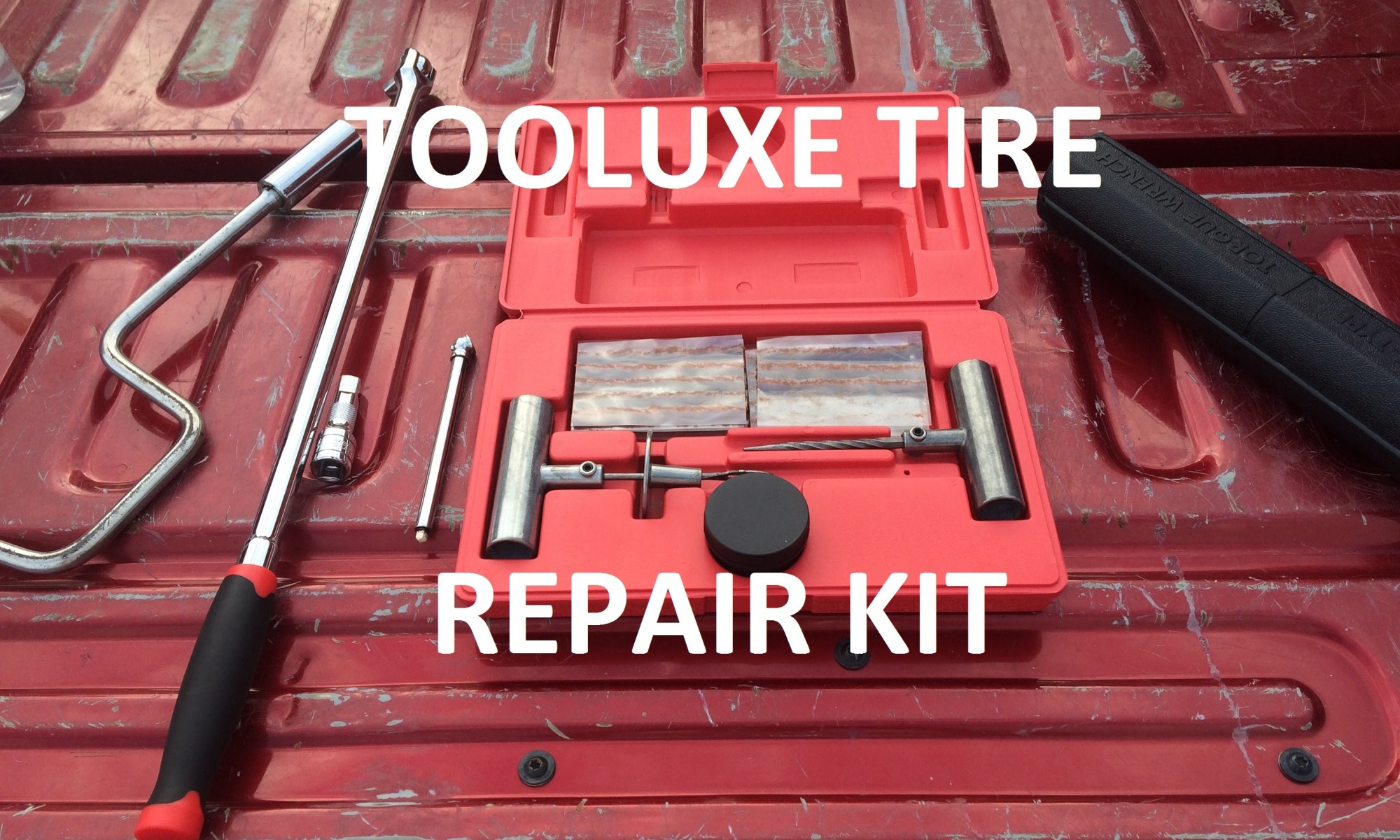 Tooluxe Tire Repair Kit