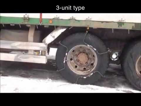 Amazing new tire chain ideal for heavy duty trucks — licensing now available outside Japan