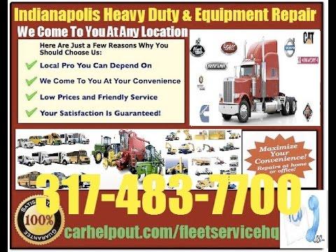 Mobile Semi Trailer Truck Repair Mechanic Service Indianapolis 317-483-7700