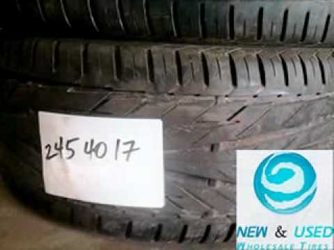 NEW & USED WHOLESALE TIRES
