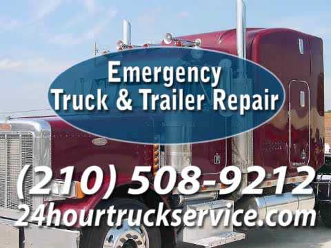 Road Service in San Antonio TX Emergency Truck & Trailer Repair