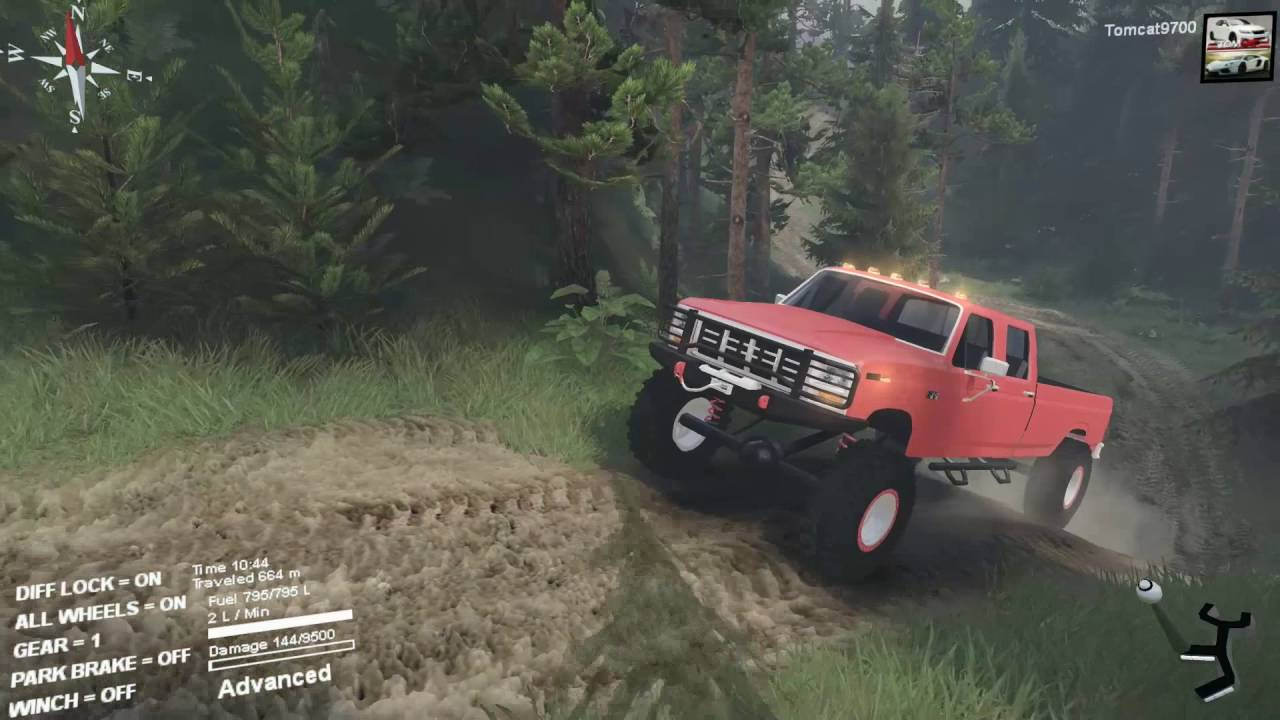 Spin Tires Most Overpowered Truck!