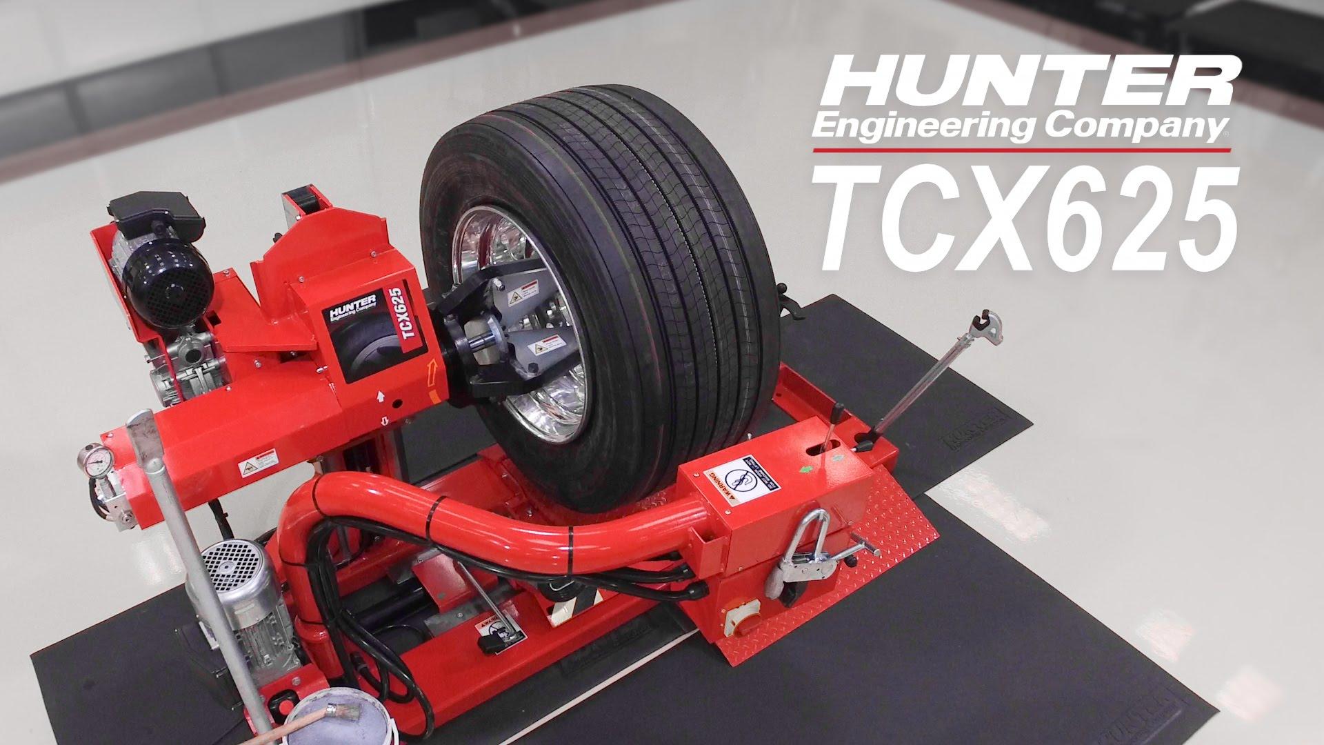 TCX625 Heavy Duty Tire Changer from Hunter Engineering