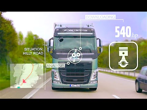 Volvo Smart Truck Repairs Itself Knight Rider New Volvo Truck Commercial CARJAM TV HD