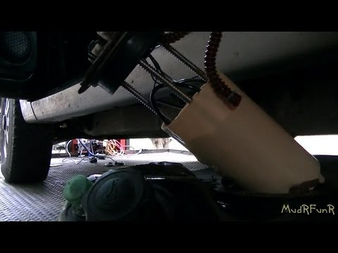 98 GMC Jimmy Fuel Pump Repair