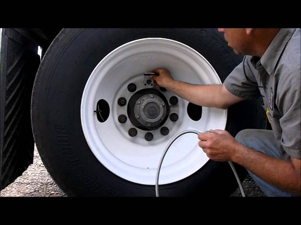Crossfire installation on truck semi wheels
