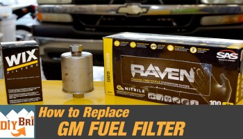 how to replace a fuel filter on a chevy truck | 2006 & older - kansas