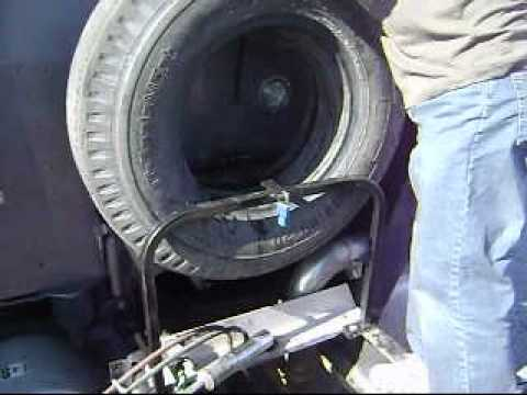 Spare Tire Carrier For Semi Trucks