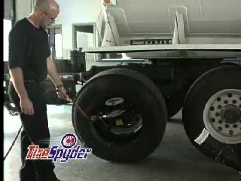 TireSpyder Mobile Tire Changer; Changing the Tire On the Truck!