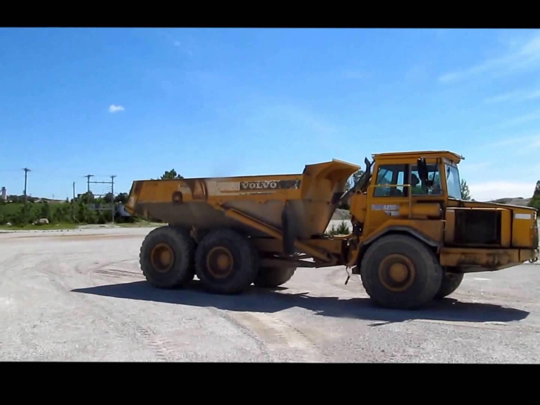 Volvo A25c Articulated Dump Truck Service Repair Manual