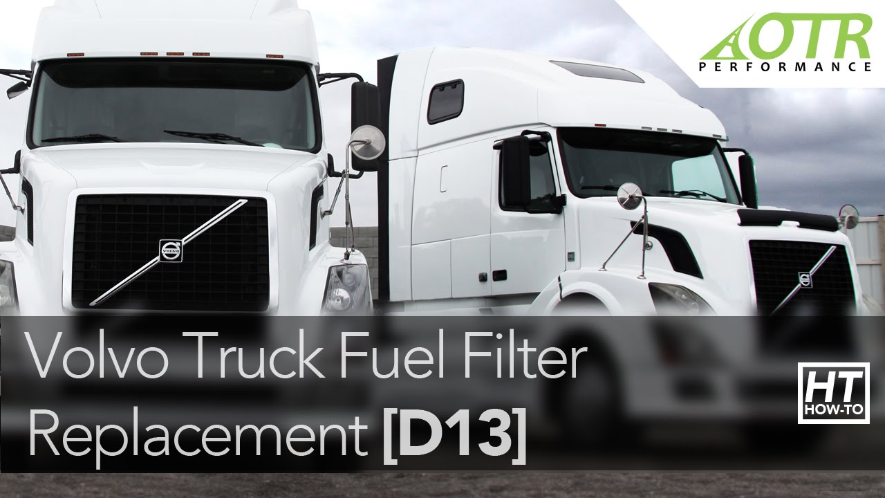 Volvo Truck Davco Fuel Pro 382 Fuel Filter | How To | OTR Performance