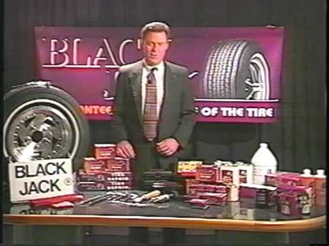 BlackJack Tire Repair Kit Tools Tubeless Flat Tractor Truck RV ATV