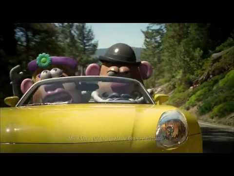 Bridgestone Tires Potato Head Super Bowl Ad [HQ]