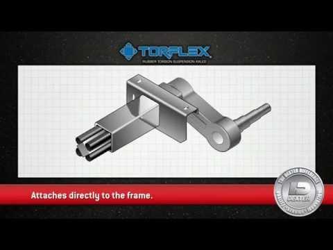 Dexter Torflex Suspension Axles