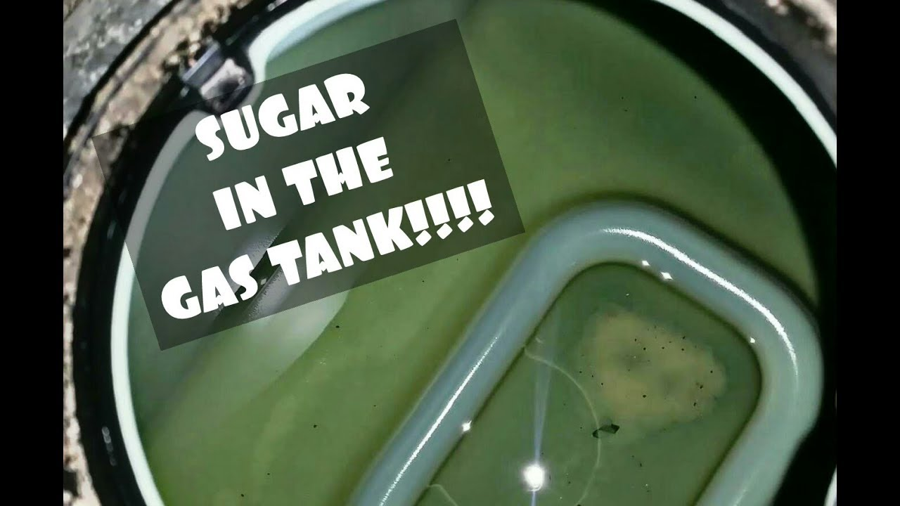 FIX SUGAR IN THE GAS TANK!!! WHAT HAPPENS???