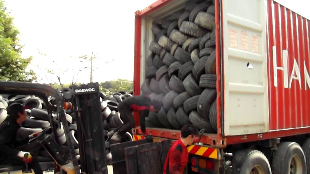 HEAVYKOREA USED TYRES LOADING 131005 4)