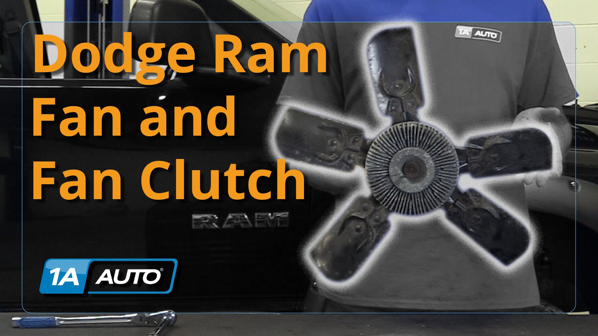 How to Install Replace Radiator Fan and Fan Clutch 08 Dodge Ram BUY QUALITY AUTO PARTS AT 1AAUTO.COM